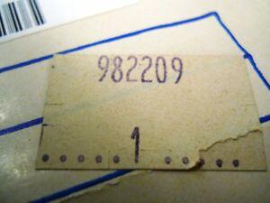 Distributor Cap OMC Part Number 982209