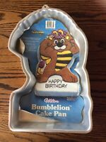 1985 Wilton Hasbro Wuzzles Bumblelion Aluminum Cake Pan