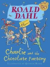 Charlie and the Chocolate Factory by Roald Dahl (2014, Hardcover,.