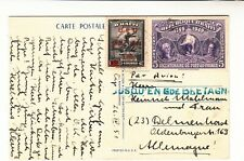 Haiti / Airmail Postcards / Jusqu'A Marks