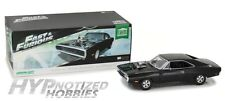 GREENLIGHT 1:18  DOM'S 1970 DODGE CHARGER DIE-CAST BLACK 19027