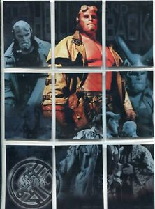 Hellboy The Movie Complete 9 Card Chase Set To Hell & Back