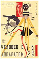 RUSSIAN CAMERA WITH LEGS Movie POSTER 27x40 Man w/ the Movie Camera