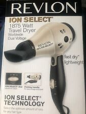 Revlon Perfect Heat Fast Dry Hair Dryer Compact Travel Styler