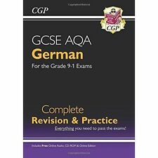 New GCSE German AQA Complete Revision & Practice (with CD & Online E... NEW BOOK