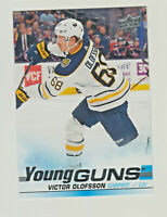 2019-20 Upper Deck Young Guns #207 VICTOR OLOFSSON RC Rookie Buffalo Sabres