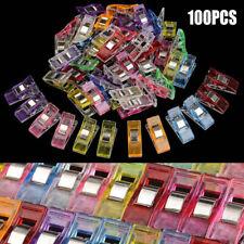 100 Pcs Pinces De Couture En Plastique DIY Clips à Coudre Pour Matelassage Outi