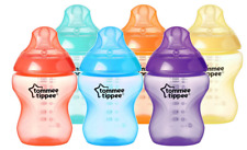 6 x Tommee Tippee Closer to Nature Fiesta Baby Bottles 260 ml 0m+