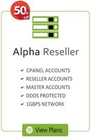 Unlimited Alpha Reseller Hosting