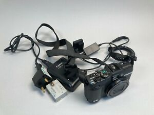 Canon PowerShot G16 Camera - Working  Spare battery  Charger  Mains adapter