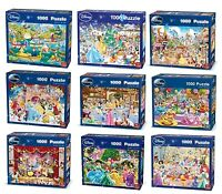 Disney 1000 Piece Jigsaw Puzzles - Choice of 9 Cartoon Official Licensed Designs