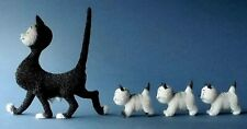 More details for dubout cats the walk cat figurine collectables gift boxed ornaments sculpture