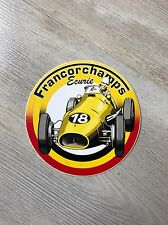 FERRARI FRANCORCHAMPS ÉCURIE Sticker Autocollant Aufkleber Belgio Club
