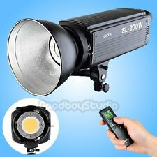 Godox SL-200W 200W 5600K Studio LED Continuous Photo Video Light Lamp w/ Remote