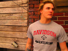 DAVIDSON TENNIS 100% Cotton Size S T-Shirt