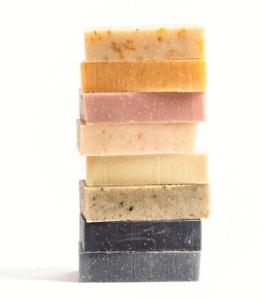 Handmade Natural Soap Bars {Geranium,Rose,Lavender,Olive}