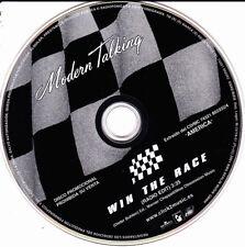 MODERN TALKING - WIN THE RACE CD SINGLE NO COVER PROMO 1 TRACK SPAIN RARE 2001