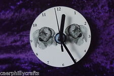 Dogue de Bordeaux CD Clock by Curiosity Crafts