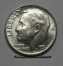 Gorgeous 1951-D Silver Roosevelt Dime Grading Choice Uncirculated  DUTCH