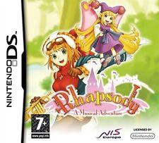 Rhapsody A Musical Adventure  per Nintendo DS (3DS) videogico