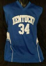 Vintage 1990s Kentucky Wildcats Basketball Jersey #34 Size Men's XL