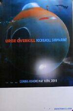 URGE OVERKILL POSTER ROCK & ROLL SUBMARINE  (Z6)