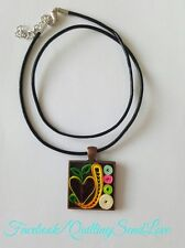 """Personalized Jewellery Genuine Leather Necklace with """"Name Letter"""" Pendant"""