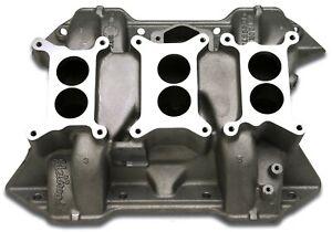 Engine Intake Manifold Chrysler 6 Packs Edelbrock 2475
