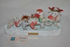 Dreamsicles 1994 Third Edition Holiday On Ice Signed Art Sculpture Figurines Box