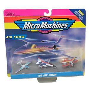 Vintage Galoob Micro Machines #29 Air Show 75030 1994 / 1995 NIB Sealed Rare