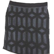 fe245ec4cf4ea Women s H   M Pencil Skirt in Black   Blue Size Medium Lined