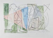 """""""Joueur de Flute et Gazelle"""" from Marina Picasso Estate Ltd Edition of 500 Litho"""