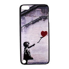 Heart Balloon Girl Graffiti Hard Case Cover for iPod Touch 5 gen 5th generation