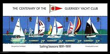 SELLOS BARCOS GUERNESEY 1991 424/28 5v.