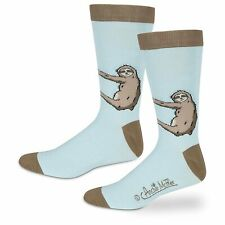 Sloth 1 Pair Of Dress Socks NEW Gag Gifts