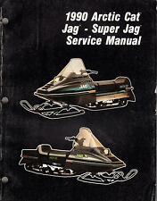 New listing 1990 ARCTIC CAT SNOWMOBILE JAG, SUPER JAG P/N 2254-573 SERVICE MANUAL (371)