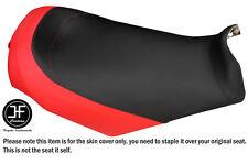 BLACK & RED CUSTOM FITS SKI DOO GSX MXZ 03-09 REV RENAGADE VINYL SEAT COVER