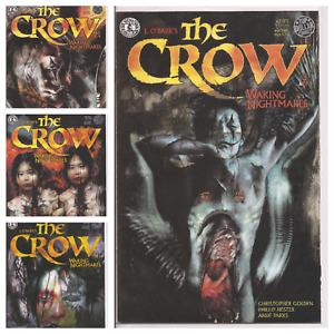 °THE CROW: WAKING NIGHTMARES 1 bis 4 von 4 ° Black & White 1998 KitchenSinkPress