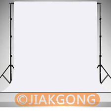White Photography Chromakey Backdrop 1.8m x 2.8m 100% Cotton Muslin background