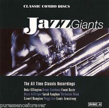 V/A - Jazz Giants Vol 4: Classic Combo Discs (UK 20 Tk CD Album)