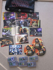 6 Comm Tech Chip  Star Wars , Card, Buttons Lot