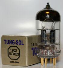 Tung Sol ECC803S/12AX7 Gold Pin tube,Reissue,NEW, Balanced Triodes