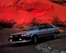 1984 Audi Coupe GT Factory Photo c3511-73248D