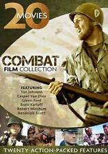Combat Film Collection: 20 Action Packed Movies (DVD, 2013, 4-Disc Set)
