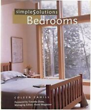 Simple Solutions: Bedrooms by Coleen Cahill (2001, Paperback)