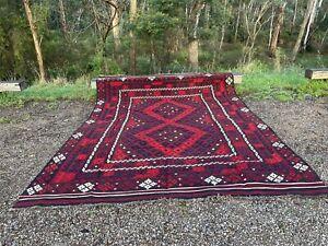 Beautiful Extra Large Kilim Rug 323 X 240 cm Persian Tribal Wool Kelim Area Rug