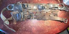 Used Heavy Duty Leather Tool Linesman Belt