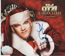"""DJ fregata AUTOGRAFO SIGNED CD-Cover """"X-MAS Time"""""""
