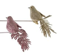 Katherine's Collection Set  2 Glitter Clip Birds Daydreaming Collection 18945942