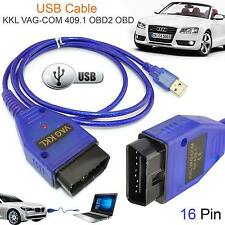OBD2 Cable USB VW/Audi/Seat/SKODA 409.1 OBDII VAG-com Auto Herramienta de diagnóstico